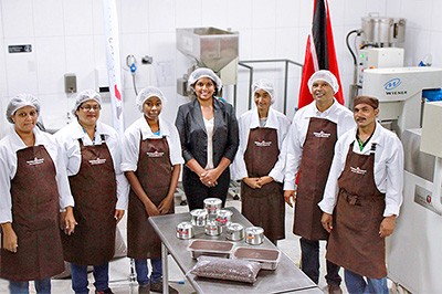 Trinidad & Tobago Fine Cocoa | Visit from the First Lady