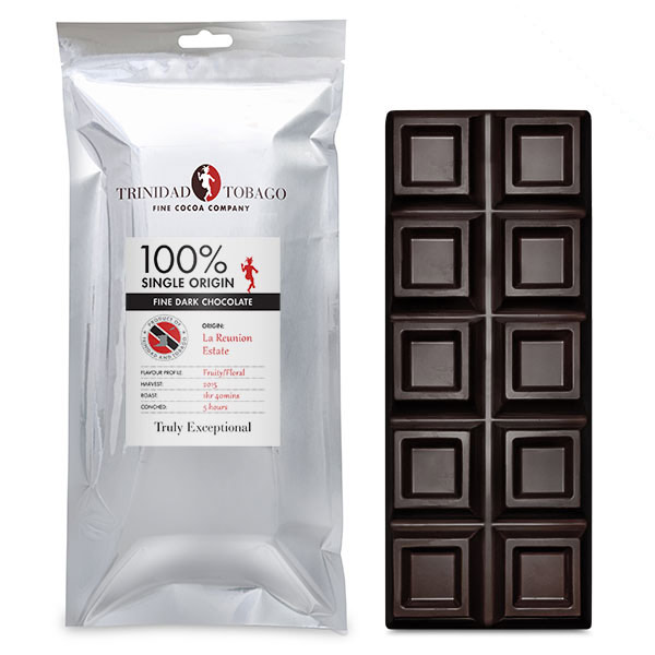 TTFCC | 100 percent Dark Chocolate 500g Bar