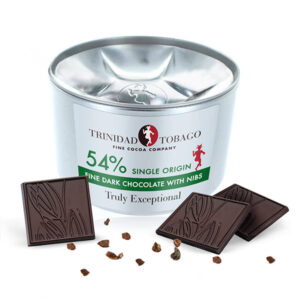 TTFCC | 54 percent Dark Chocolate With Nibs Tin
